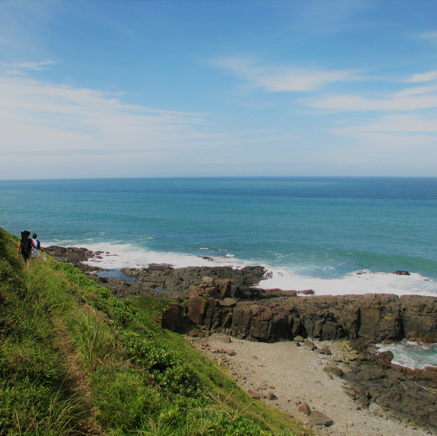 Second beach hike