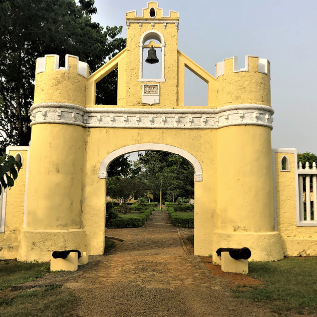 Entry to the Belo Monte plantation
