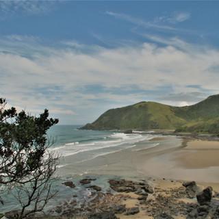 Third beach hike, Coffee Bay
