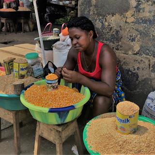 Market in Sao Joao do Angolares