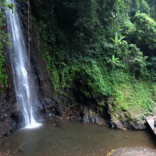 Sao Nicolao waterfall, interior of island