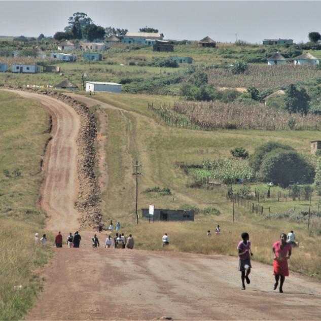 Into the Transkei