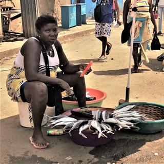 São Tomé city market