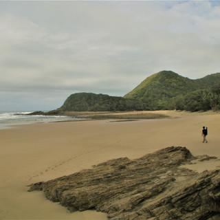 First beach hike