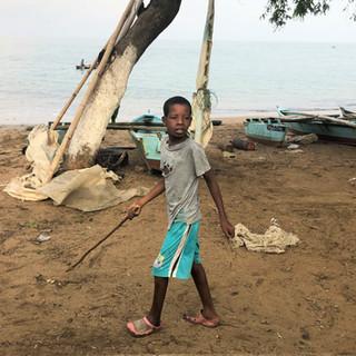 Beach of São Tomé city