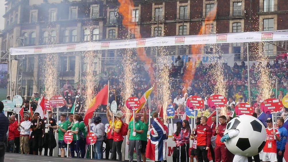 Opening ceremony Mexico HWC 2018