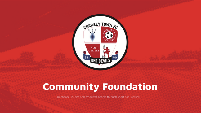 Spot 'Crawley Community Foundation'