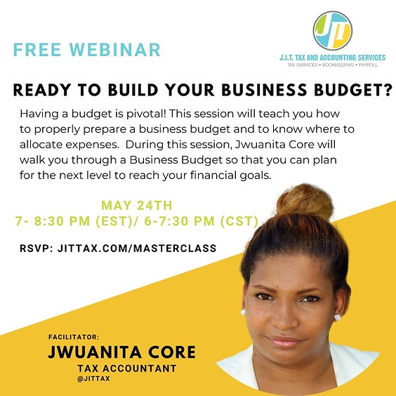 Business Budget Planning Workshop