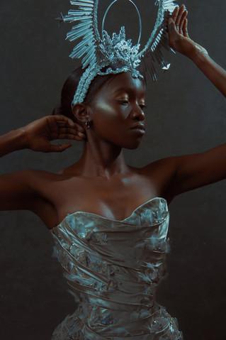 Photographer | NEWO Imagery Model | Sherelle MUA | Ambellina Halo | Hysteria Machine  Designer | Emiah