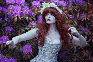 Photographer | Anjelica Hyde Model & HMUA | Miss Deadly Red Designer | Emiah Tiara | Immy Howard Millinery