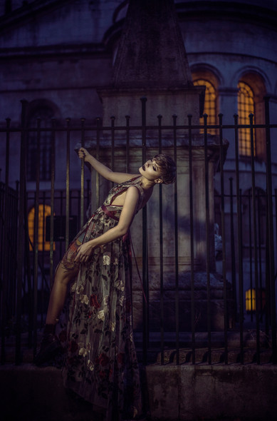 Photographer | Sally Sparrow Model | Pennold Lighting | Ben Mak Designer | Emiah
