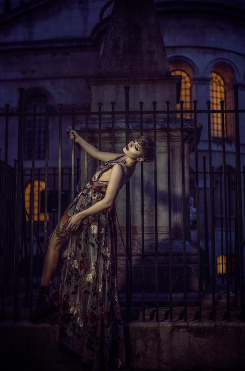 Photographer | Sally Sparrow Model | Pennold Lighting | Ben Mak Designer | Emiah