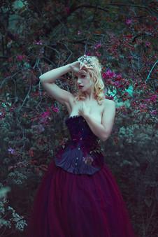 Photographer | Anjelica Hyde Model & HMUA | Miss Victory Violet Designer | Emiah Tiara | Monarque Jewels