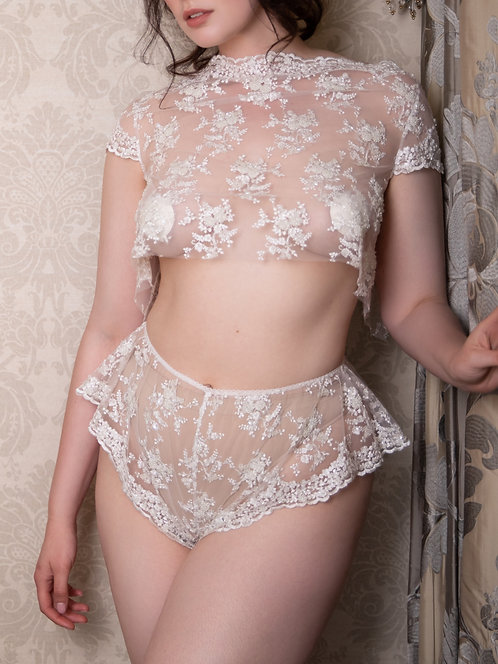 Talia - Top & French Knickers