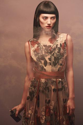 Photographer | Matt Jason Harris Model | Jordan Ebbitt Designer | Emiah