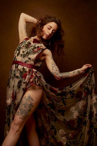 Photographer | Laura Sheridan Model | Palmyra La Diva Designer | Emiah