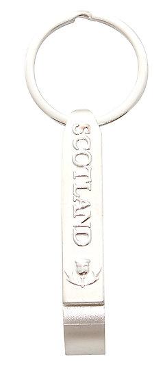 Scotland Long Bottle Opener Keyring