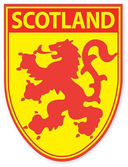 Scotland Rampant Lion Sticker