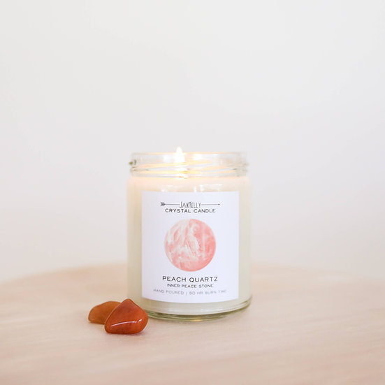 Crystal Intention Candles