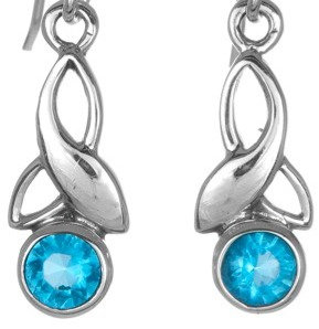 Topaz Trinity Earrings