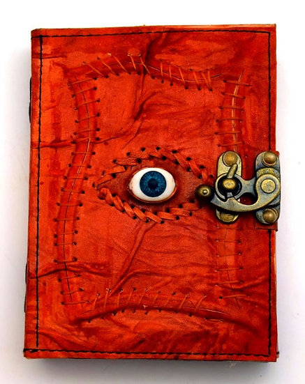 Leather Journal All Seeing Eye