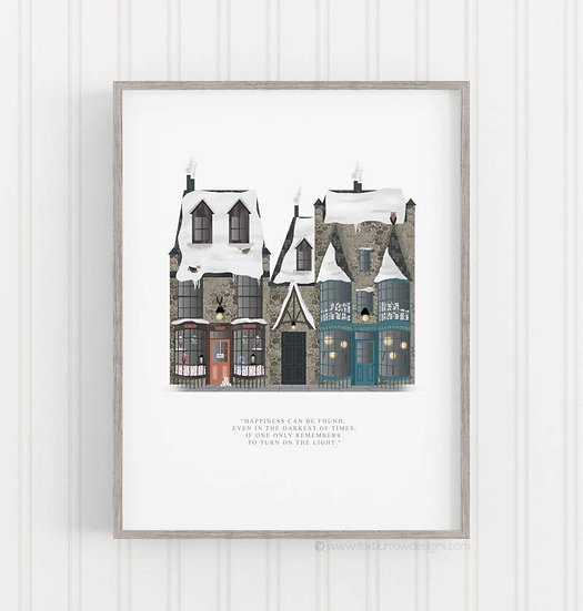Diagon Alley Print (Harry Potter)