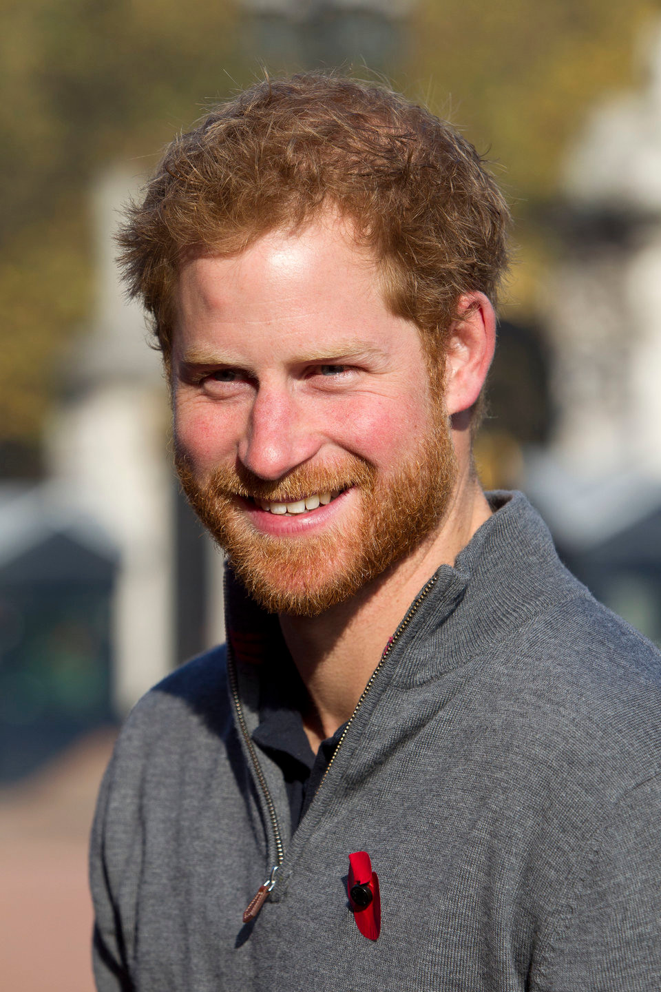 Prince Harry red head