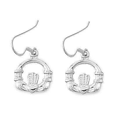 Claddagh Dangle Earrings