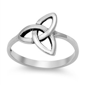 Trinity Knot Single Ring