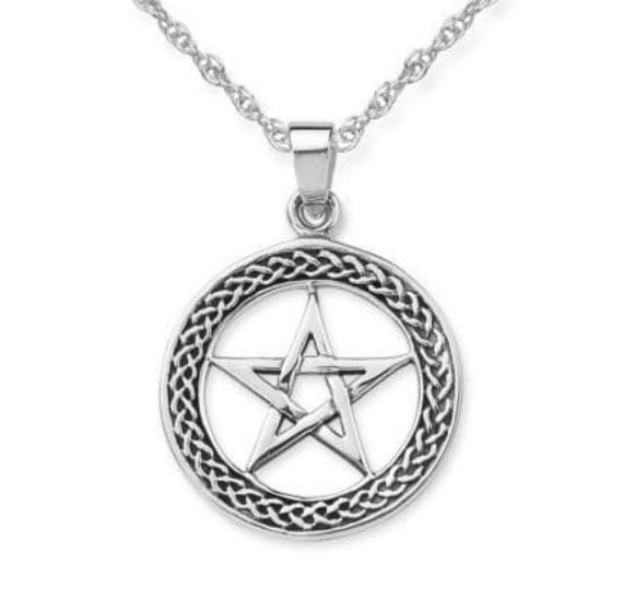 Pentacle Knotwork Necklace