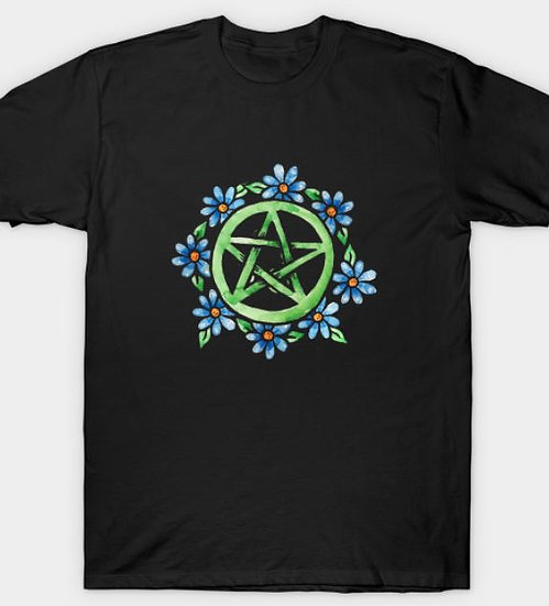 Floral Pentacle T-Shirt