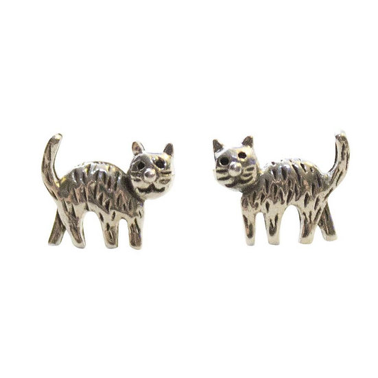Happy Cat Earrings