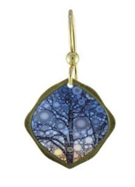 Tree Sunset Earrings (Large)