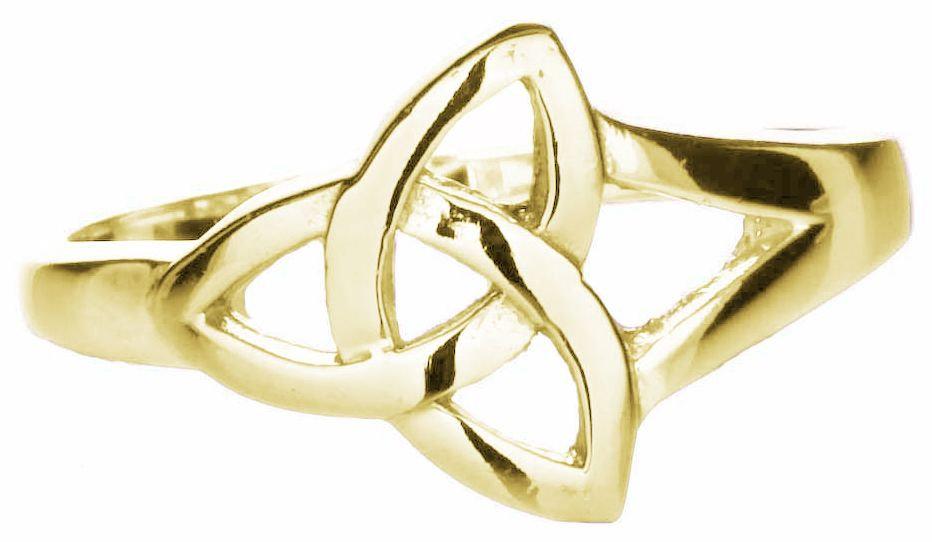 10k Gold Trinity Ring