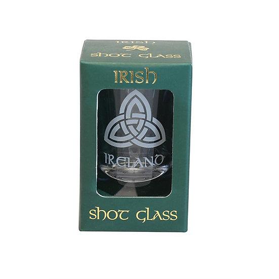 Double Trinity Shot Glass