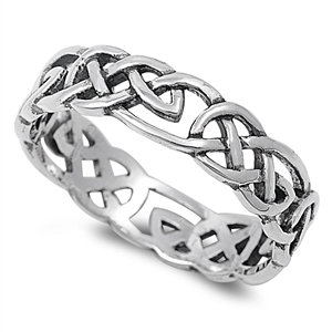 Knot Open Band Ring