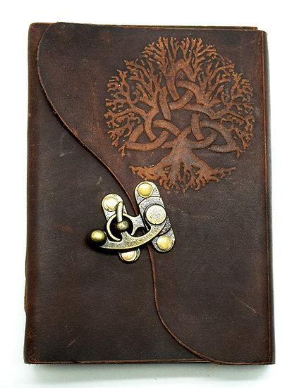 Soft Leather Trinity Tree Journal