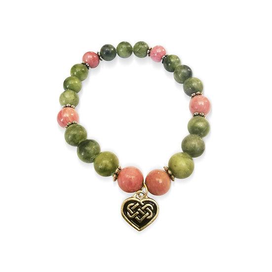 copy of Connemara Marble Heart Bracelet