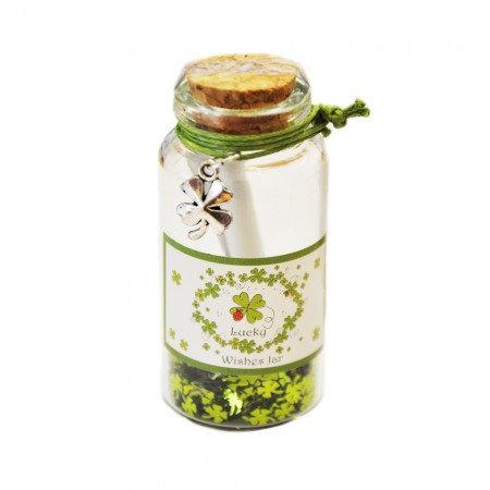 Good Luck Wishing Jar