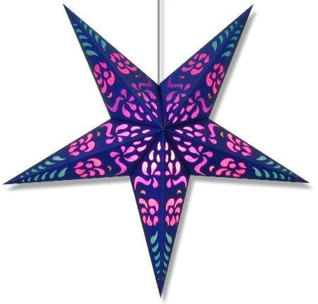 Paper Star Light Purple Punch
