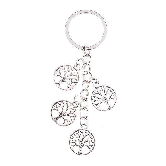 Tree of Life Charms Keyring