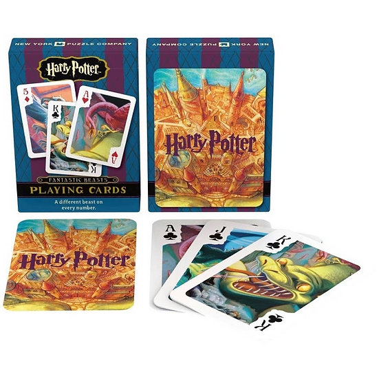 Playing Cards, Harry Potter Beasts