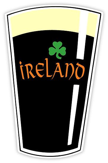 Ireland Stout Sticker