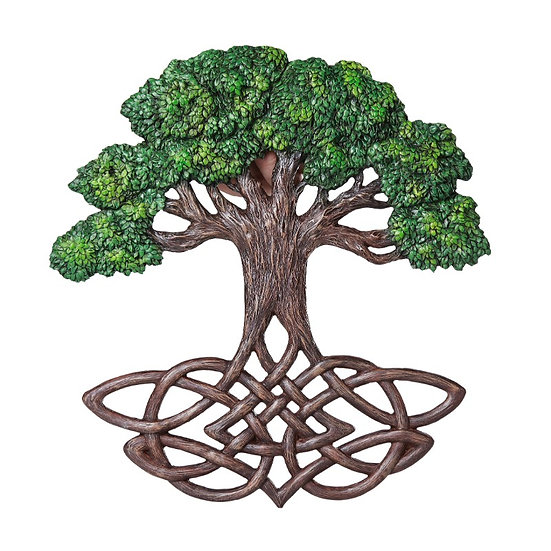 Tree of Life Knotted Roots Plaque