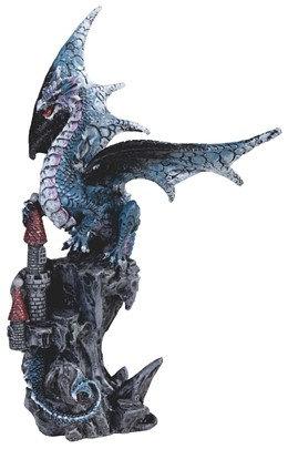 Blue Dragon on Castle