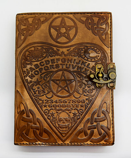Ouija Leather Journal