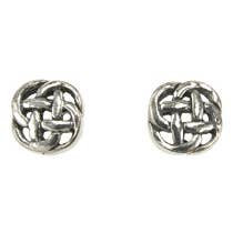 Tiny Celtic Knot Earrings