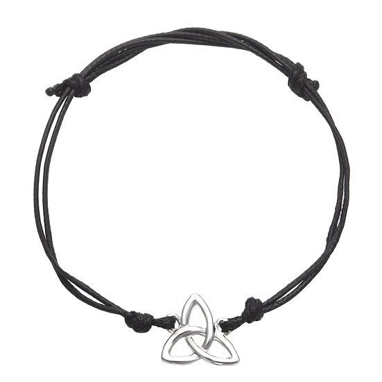 Trinity Knot Cord Bracelet
