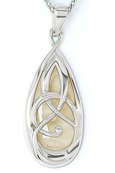 Celtic Pearl Necklace