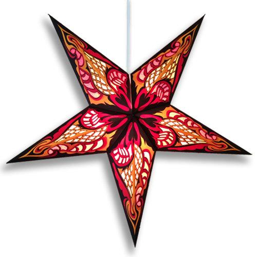 Paper Star Light Hydra Red
